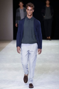 Giorgio Armani Menswear Collection Spring Summer 2015 in Milan