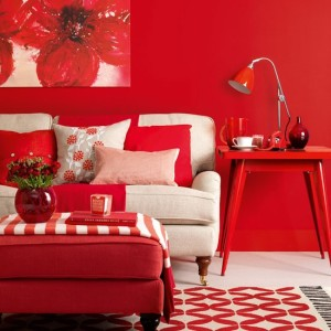 Red-Living-room-modern-Ideal-Home