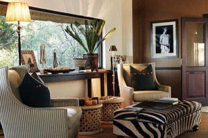 African-living-room