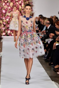 Oscar De La Renta fashion show during Mercedes-Benz Fashion Week Spring 2015