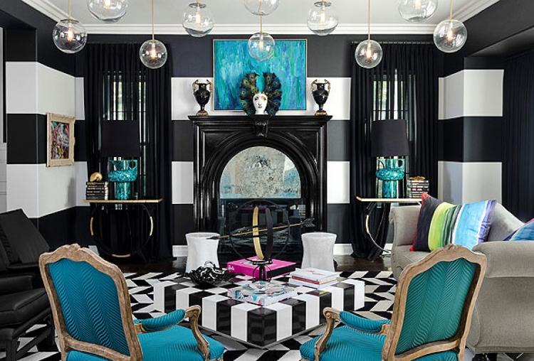 Funky fashion funky interiors julia cavallaro designs for Funky home designs