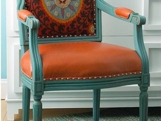aqua-orange-i-love-the-combo-but-i-would-do-it-w-an-orange-back-runner-lumbar-pillow-so-i-dont-have-to-commit-to-orange-in-expensive-upholstery