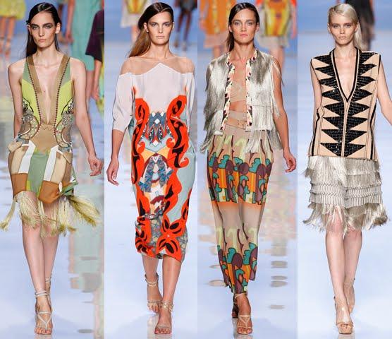 etro milan runway show spring summer 2012