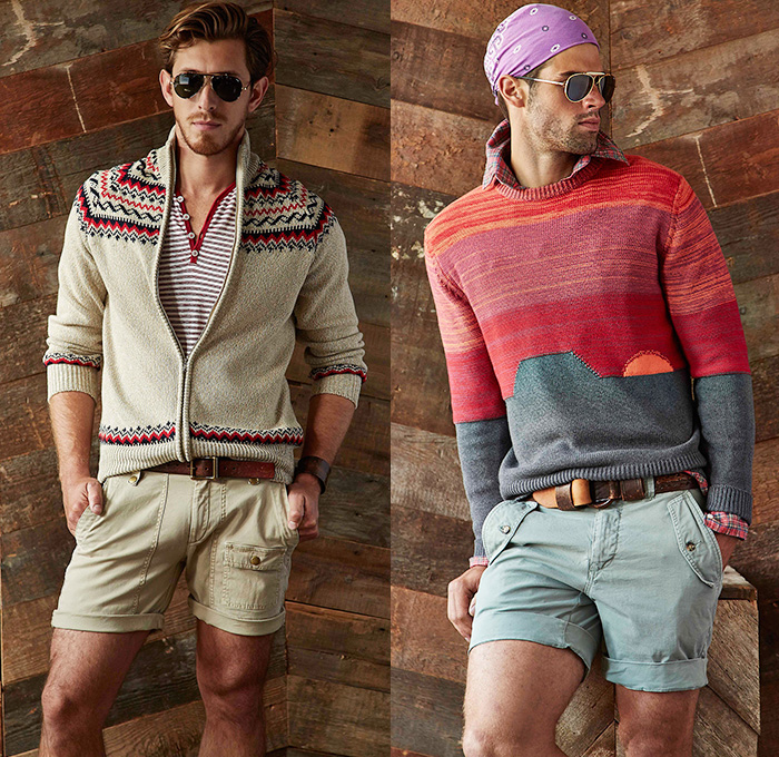 michael-bastian-nyc-2015-spring-summer-looks-mens-southwest-denim-jeans-knit-sweater-western-biker-windowpane-check-blazer-shorts-aviator-sunglasses-08x