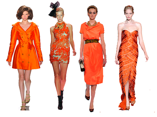 karen%27s orange fashion week blog