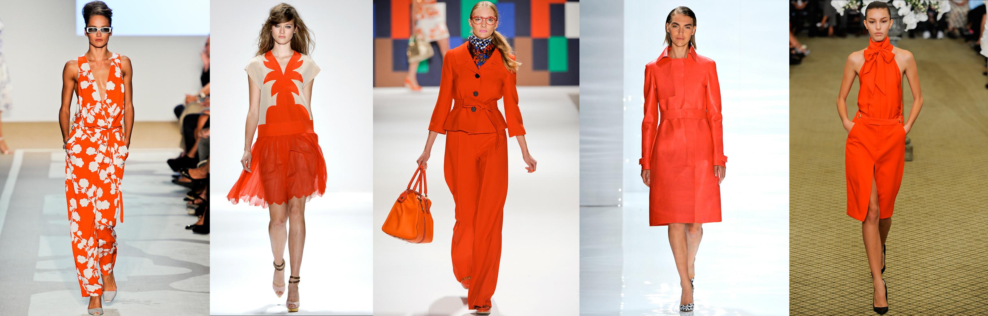 Orange…is it the new black for Spring?! – Julia Cavallaro ...