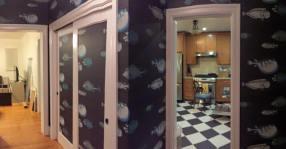 wallpaper hallway
