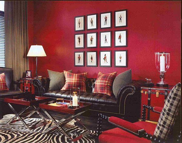 Red Interior Design Endearing Red Interior Colors Adding Passion And