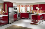 elegant-kitchen-interior-design-style-with-red-cabinet-and-white-countertop-ideas